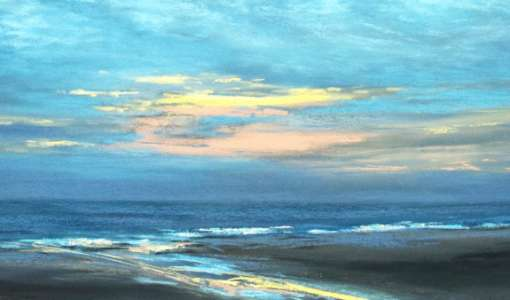 Wolken und Himmel in Pastell